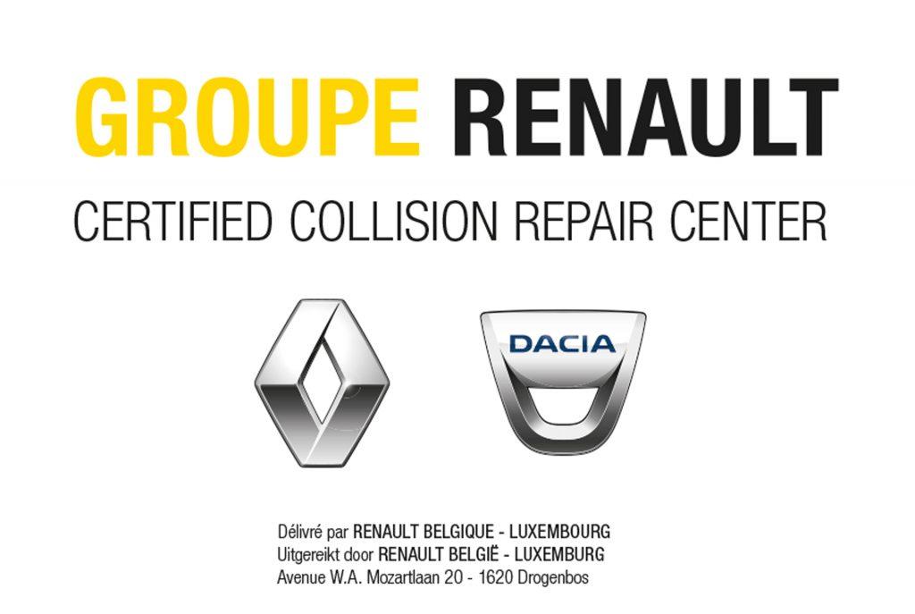 Renault Certified Bodyshop